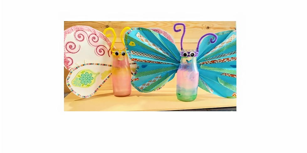 Parent/Child Craft Time: Container butterflies