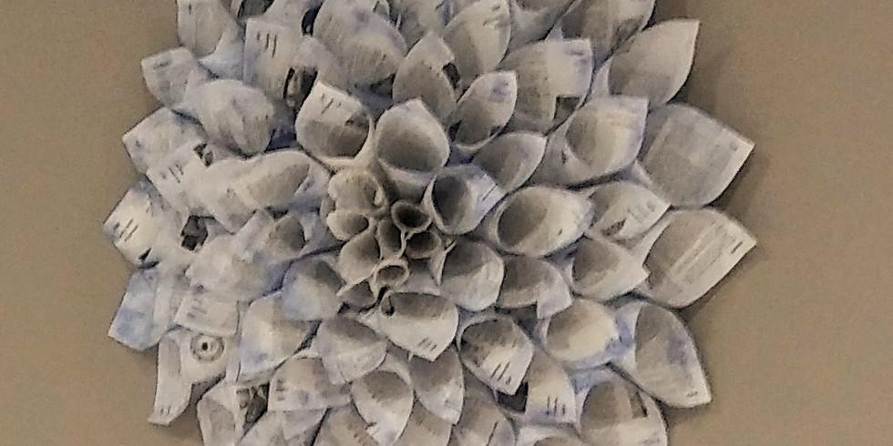 Sip & Craft: Paper wreath