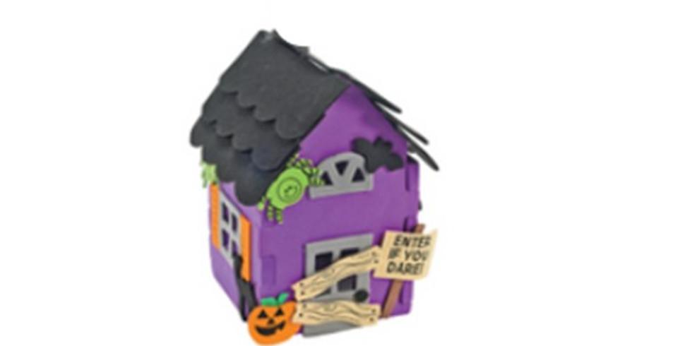 Monthly Family Friday Fun! Spooooky house.