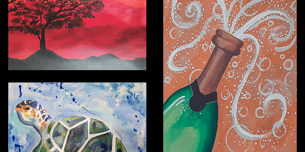 Special New Year's Eve Paint and Sip, Tickets $42