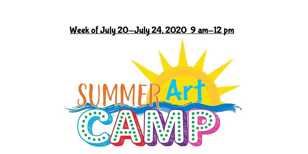 Summer Camp, JULY 20  - JULY 24,  9 am - 12 pm, Full Week  (4)
