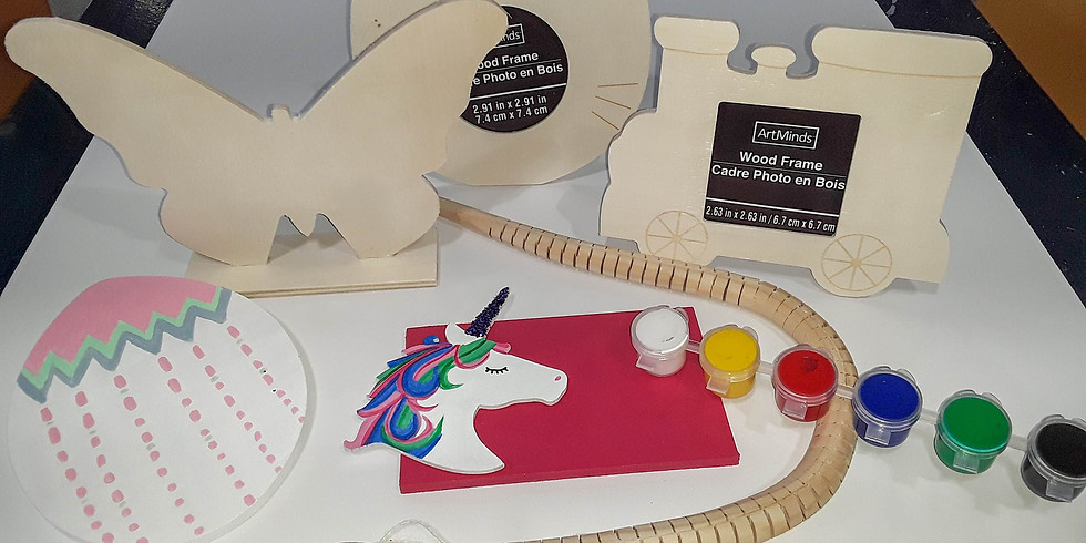 Take Home Painting Kit - Wood Boards