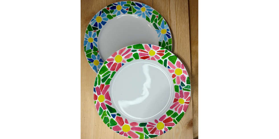 Painted plates! Show off your skills.