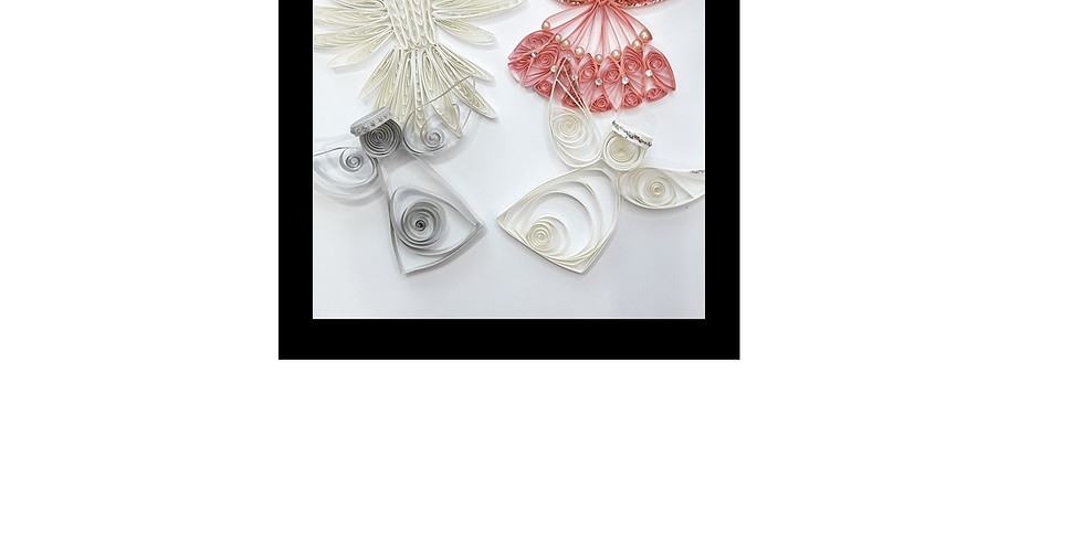 Quilling class: Angels