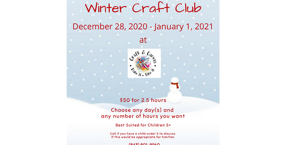 Winter Craft Club for Kids
