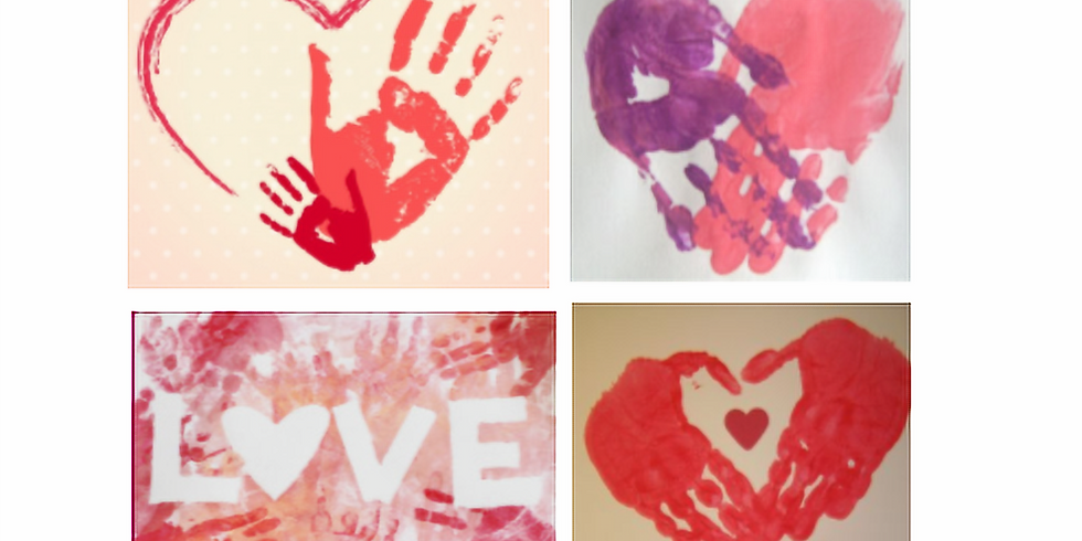 Hand-Hearts on Canvas Bags $12 each