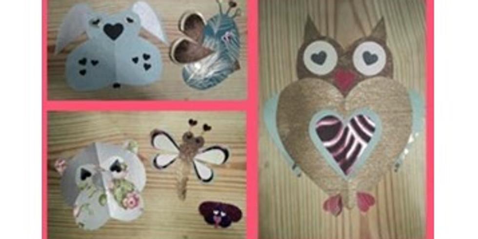 Parent/Child Craft Time: Heart Animals