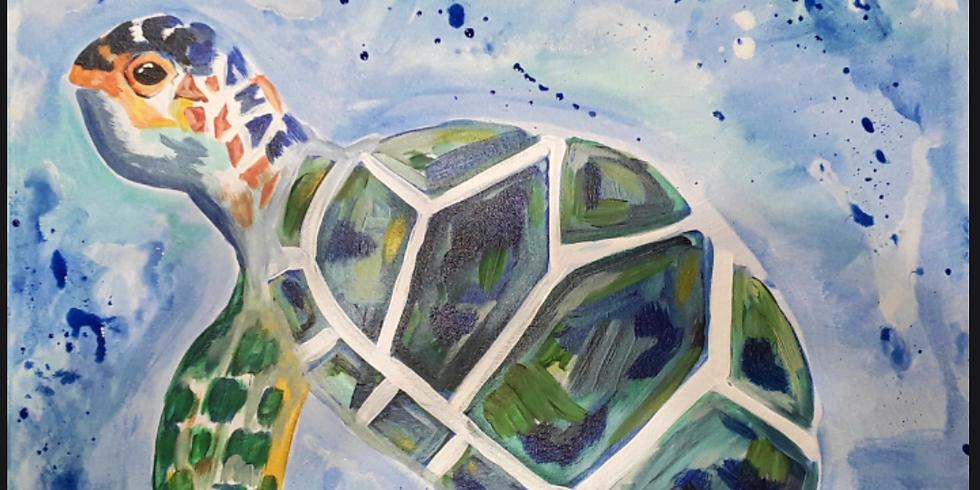Sip & Paint Turtle