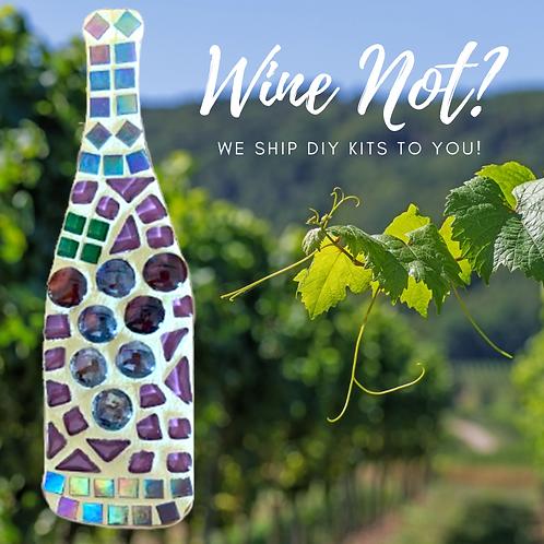 Wine Bottle Mosaic Kit