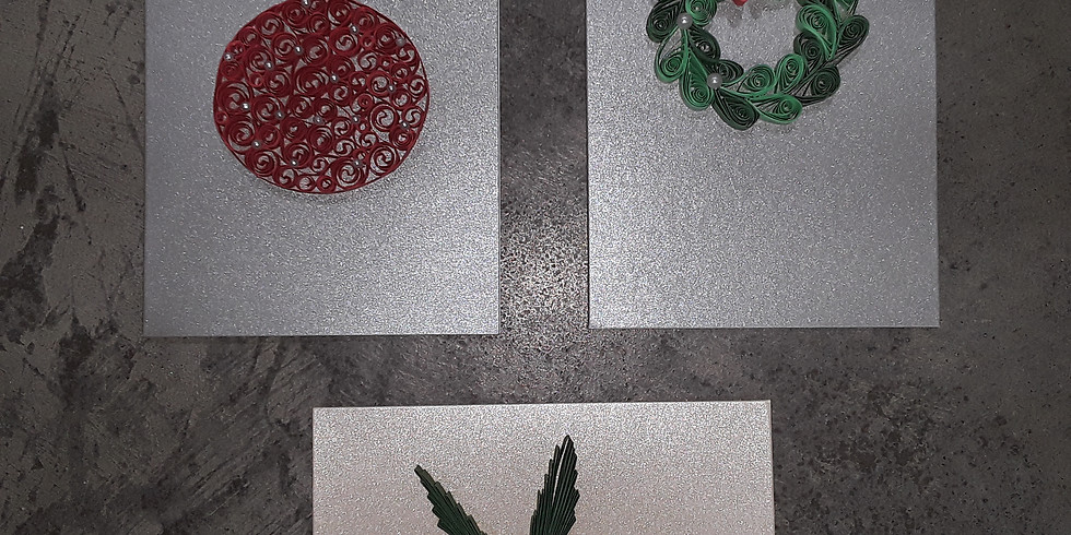 Quilled Holiday Cards
