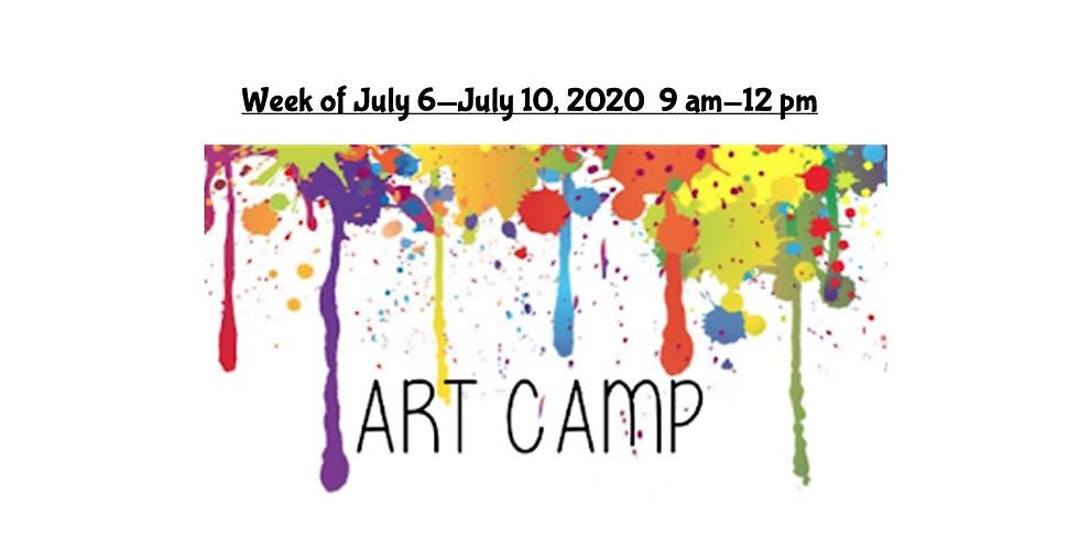 Summer Camp, JULY 6  - JULY 10,  9 am - 12 pm, Full Week  (2)