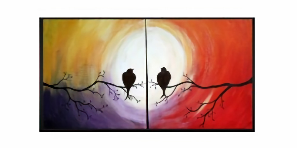 Do it with a Date-Valentine's Day Painting