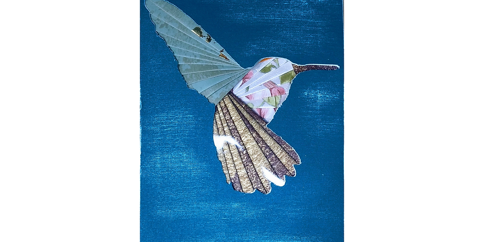 Card of the month - Hummingbird