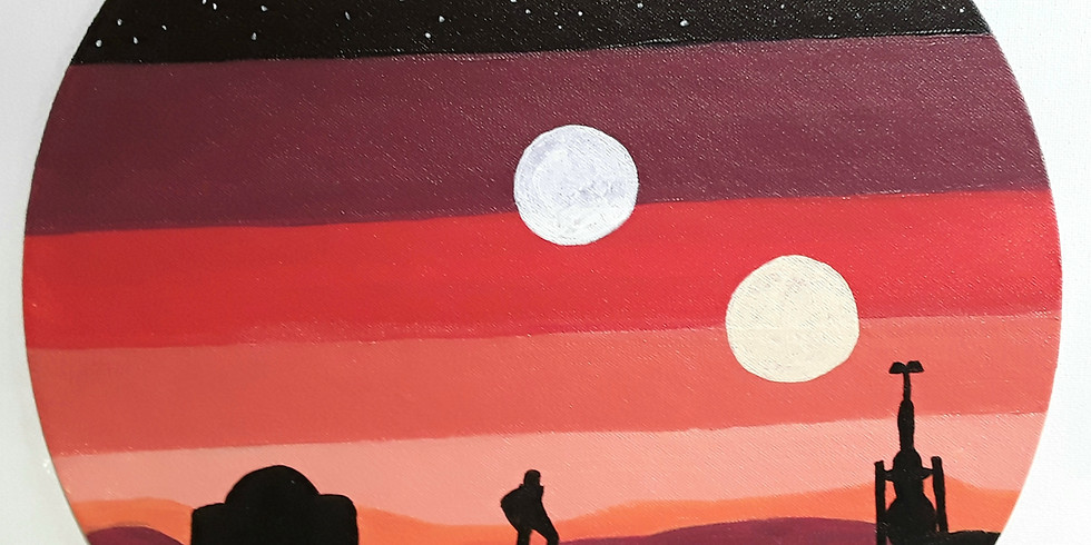 Trivia Sip and Paint!  Star Wars