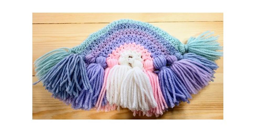 Crochet class:  Tassel Rainbow