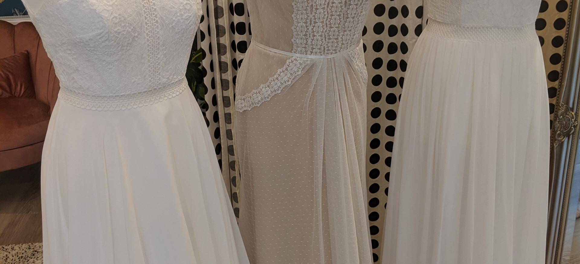 Off the Peg Wedding dresses at Pretty Smithy Bridal