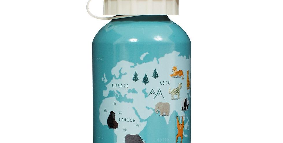 Endangered Animals Kids Metal Water Bottle