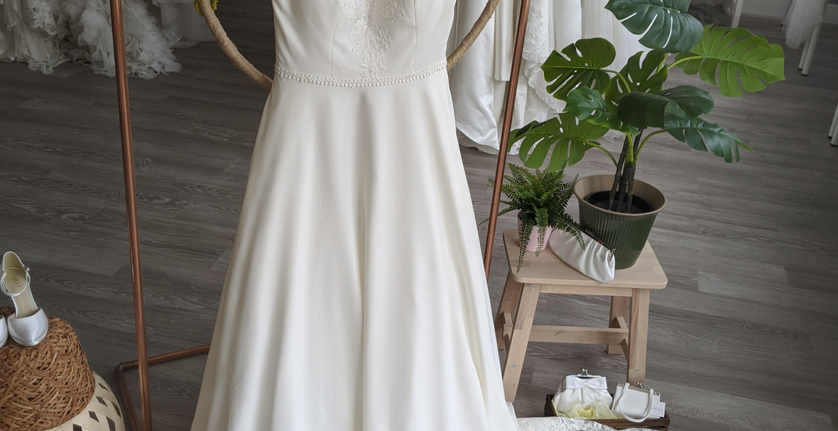 Hallie Wedding Dress at Pretty Smithy Bridal