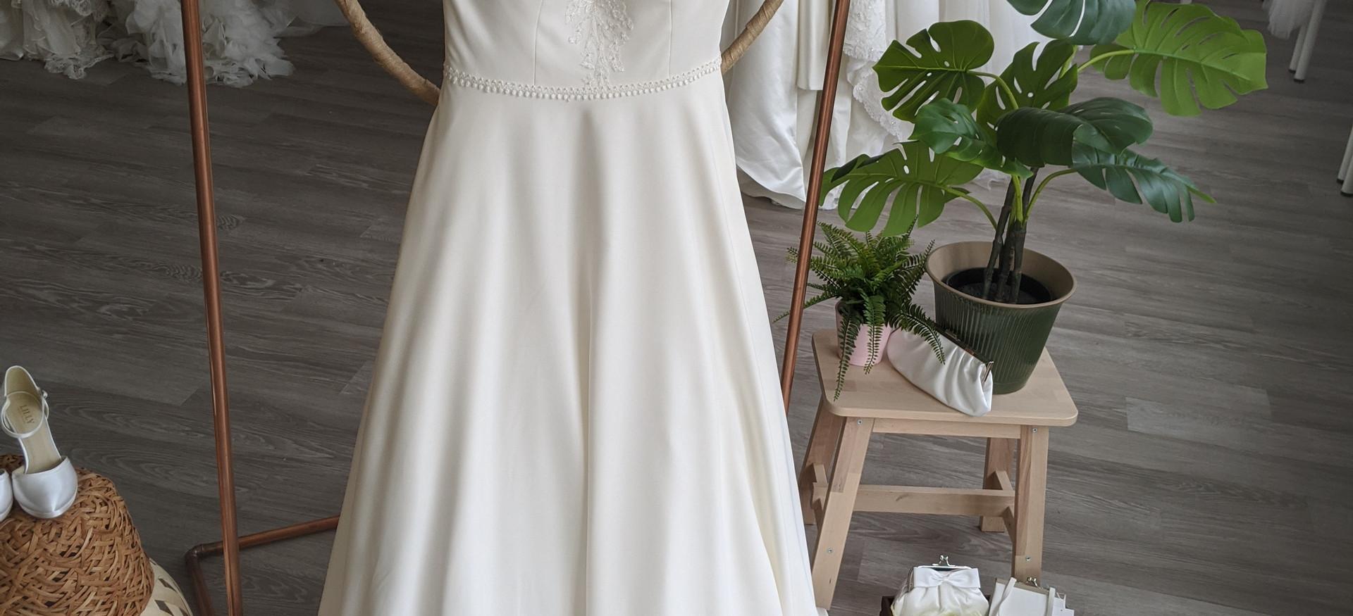 Hallie Wedding Dress at Pretty Smithy Bridal