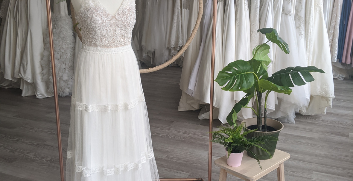 Fleur Wedding Dress - at Pretty Smithy Bridal