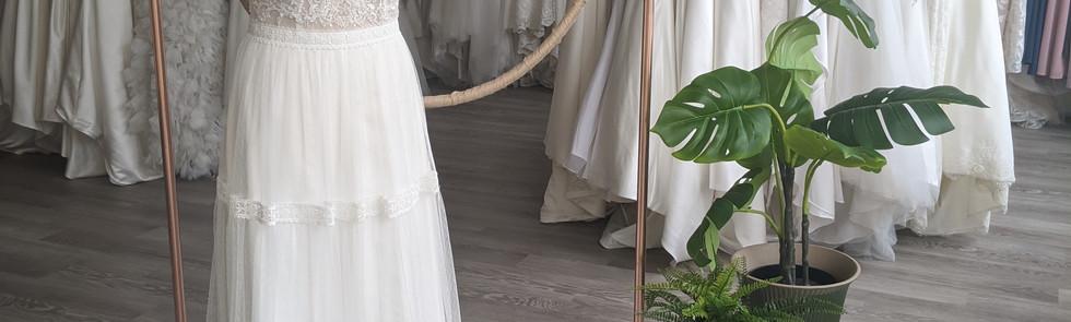 Fleur Wedding Dress - at Pretty Smithy Bridal