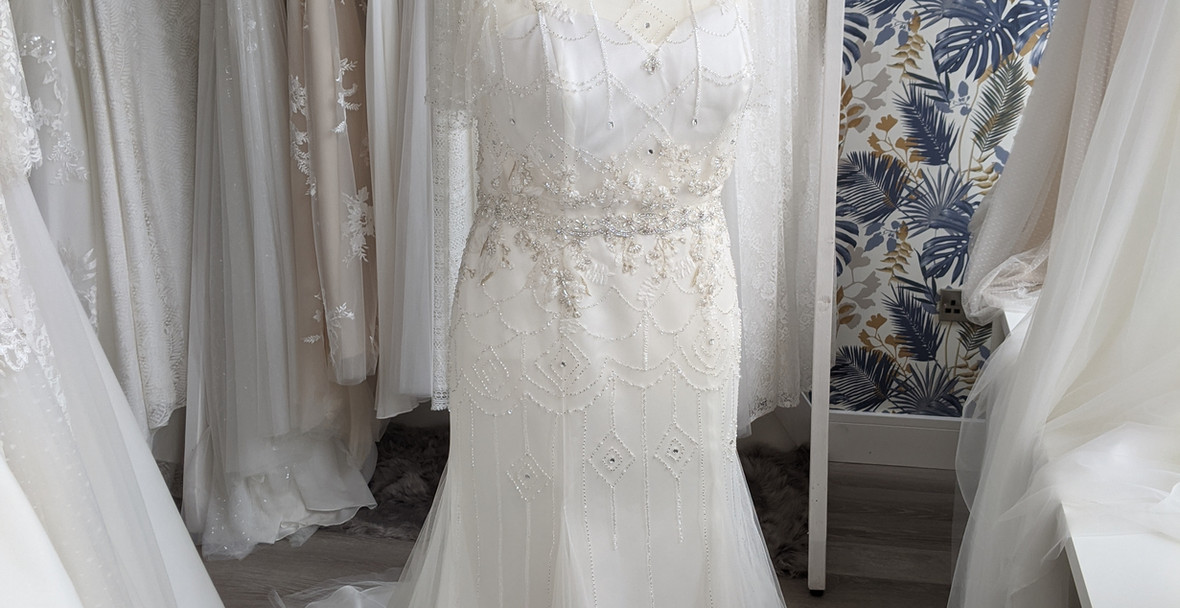 Sloane Wedding Dress at Pretty Smithy Bridal