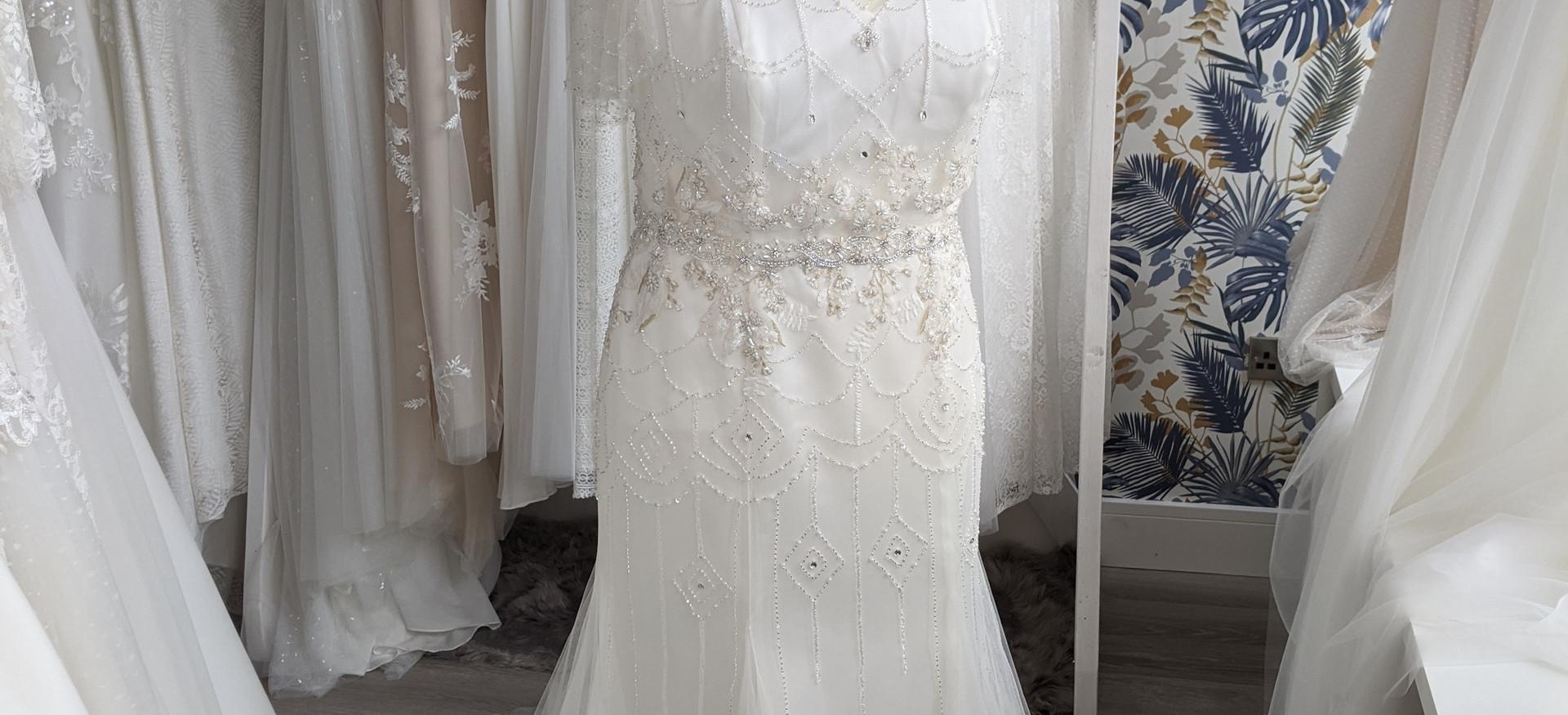 Sloane Wedding Dress at Pretty Smithy Bridal