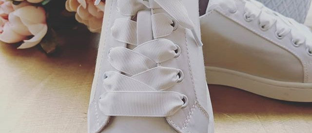 Toya Bridal Sneakers - by Lilly