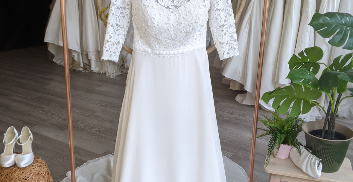 Minerva Wedding Dress by Pretty Smithy Bridal