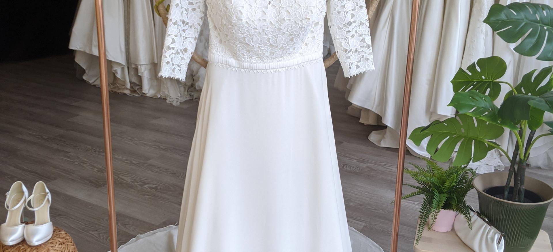 Minerva Wedding Dress by Pretty Smithy Bridal