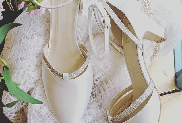 Luna Bridal Shoes - by Lilly