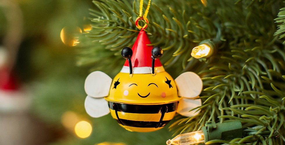 Bee Hanging Bell Decoration