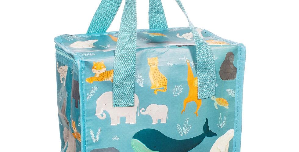Endangered Animals Lunch Bag