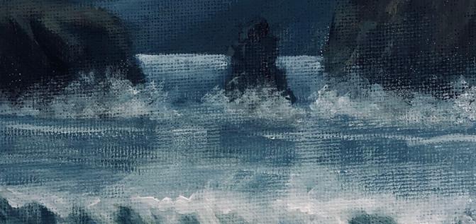 Darkening waves