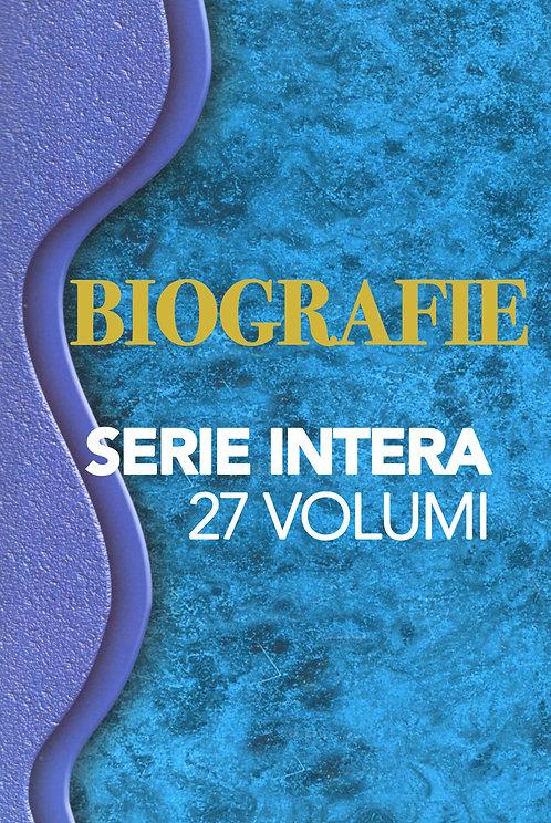 Biografie - SERIE INTERA (27 volumi)