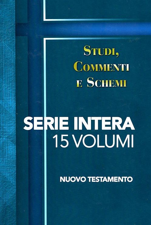 Studi, commenti e schemi - SERIE INTERA NT (15 volumi)