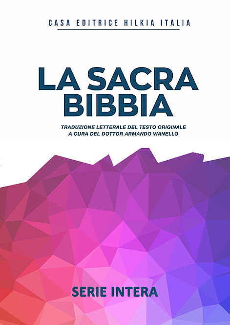 Bibbia translitterata - SERIE INTERA