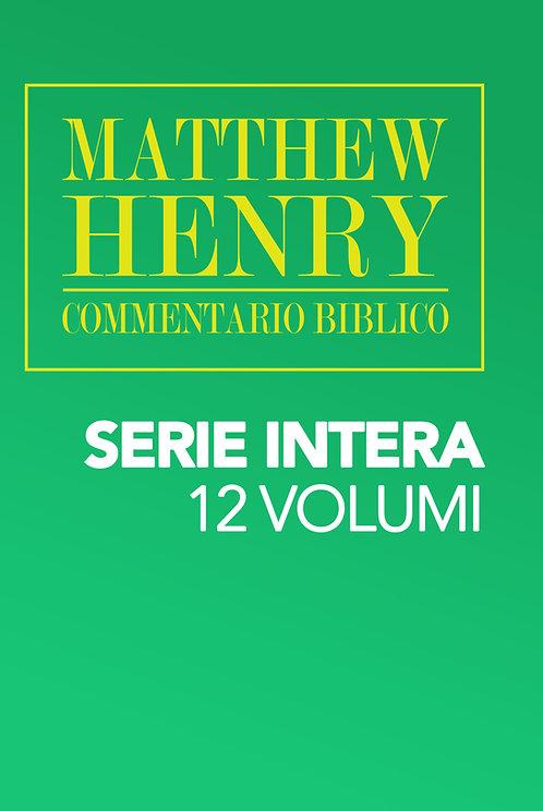 Commentario biblico Matthew Henry (Serie)