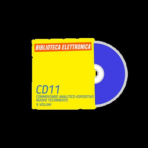 CD11 - Commentario analitico-espositivo N.T