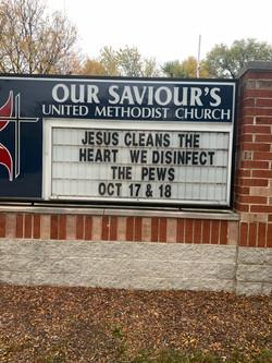 Clean Pews