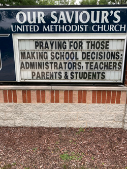 Pray for school administrators