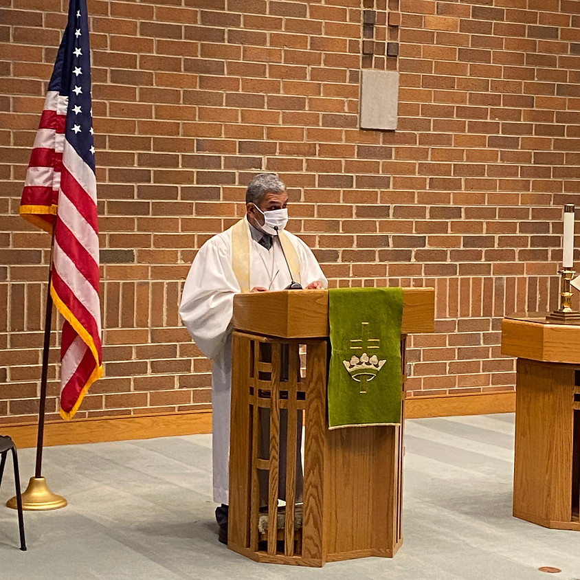 Indoor Service Sunday October 25, 2020
