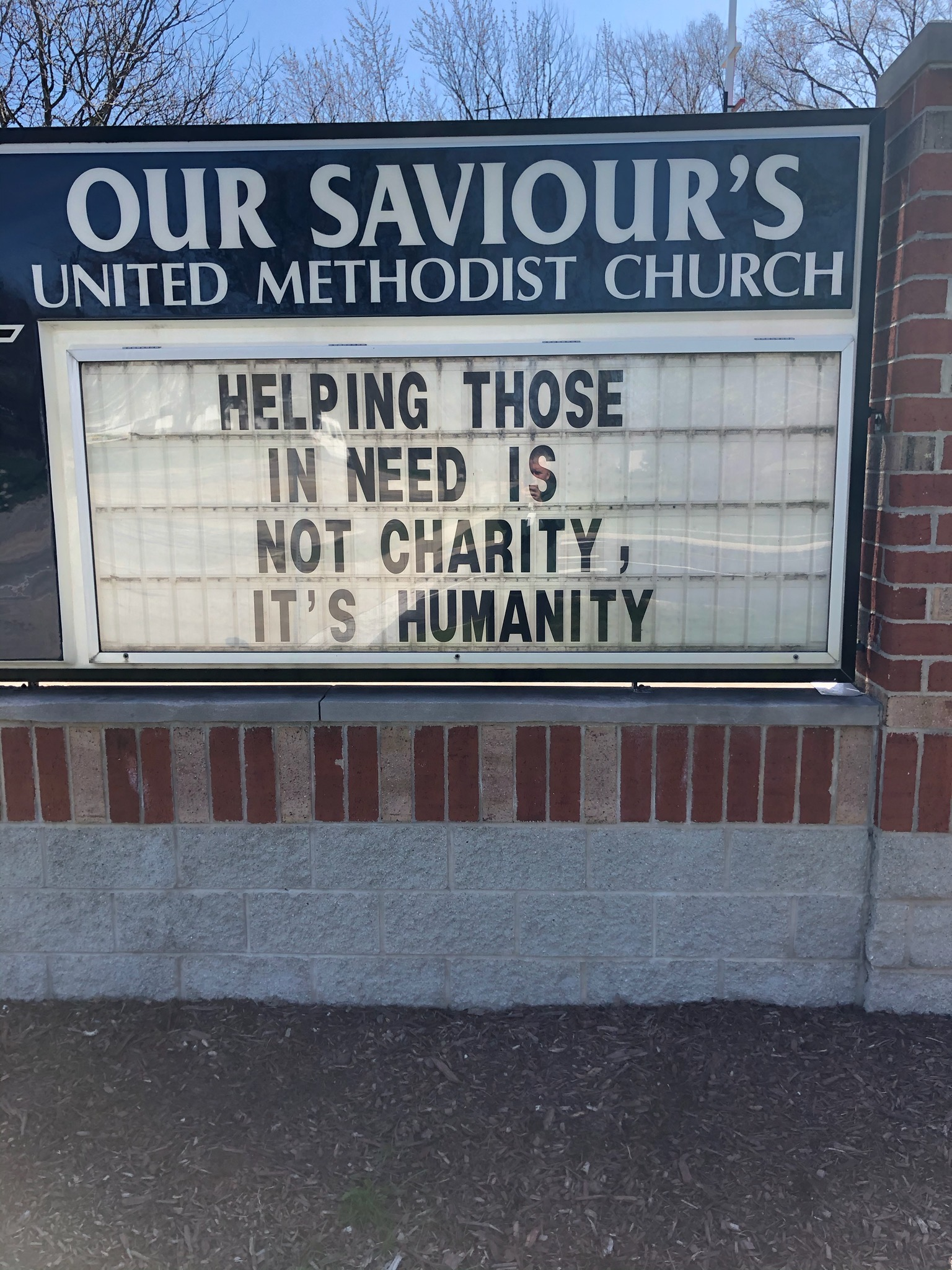 Helping is Humanity