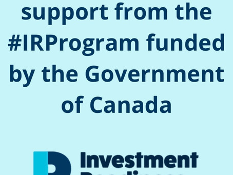 Savyn receives funding from the Investment Readiness Program by the Government of Canada