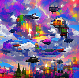 spaceship_in_the_sky_colorful_pixel art_sflicker_3444440.png