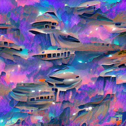 spaceship_0.8_Trennstrich_waterfall_over_wild_river_through_a_space_canyon_pixel art_0.2_s