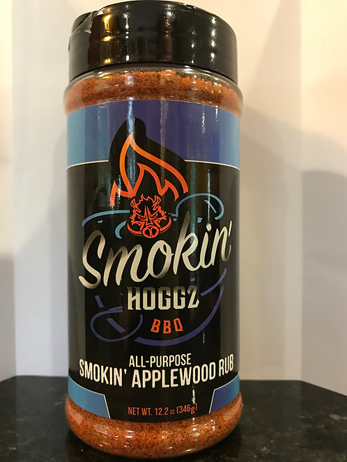 Smokin Hoggz All-Purpose Smokin Applewood Rub 12 oz.