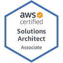 AWS Solution Architect Associate badge