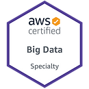 AWS BigData Specialty badge