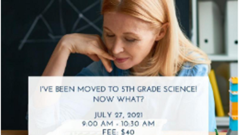 I've Been Moved to 5th Grade Science! Now What?